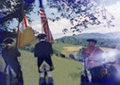 SAR soldiers at Horseshoe Cemetery Pembroke Virginia '99 reunion